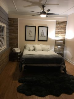 Updated guest bedroom on main level