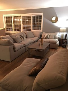 Beautiful, large living room couch