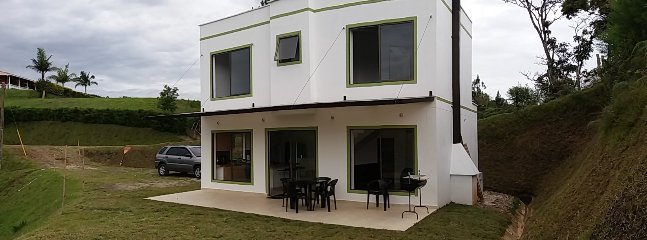 fully furnished house with fireplace & BBQ