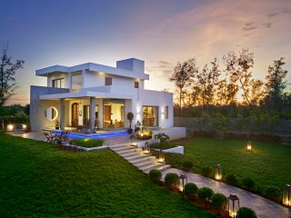 Manna Villa  beach house is a contemporary designed house with 16800  sq ft area