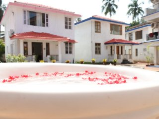 2 BHK Duplex Villa By the Pool at Vagator