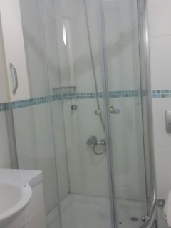 New shower this year