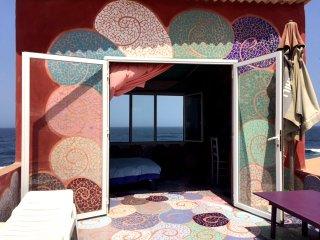 Chambre dans maison d'artiste île de Ngor Sénégal