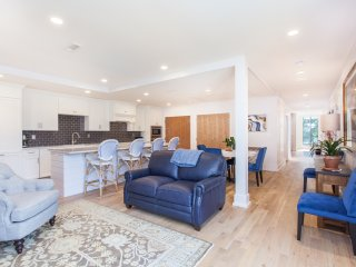 Enjoy Thanksgiving Cooking + Entertaining in an Open Kitchen/Living/Dining Space