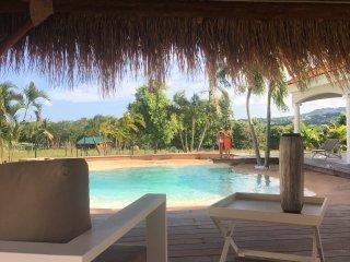 Maison Carouge de 8 a 12 personnes avec piscine Lagon