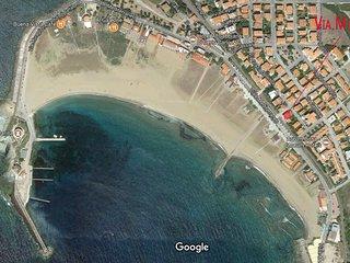 Casa indipendente Bosa Marina fronte mare a 20 metri dalla spiaggia
