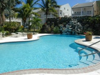 Frigate Bay, St. Kitts Condo - steps away from restaurants, hotel, beach & golf.