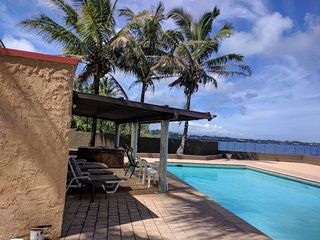 Big Island Oceanfront luxury home - gated, private, huge pool and hot tub.