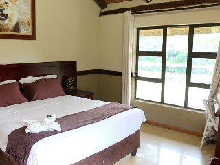 Enviro Guest House - Deluxe Queen Room with River View 1