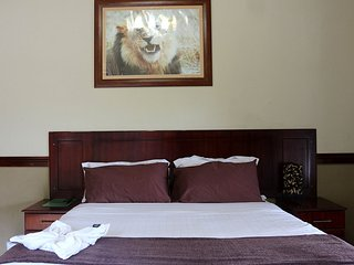 Enviro Guest House - Deluxe Queen Room with River View 3