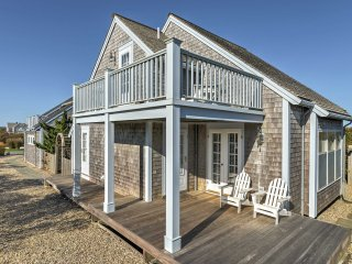 NEW! 2BR Nantucket Cottage-Steps From Private Beach!