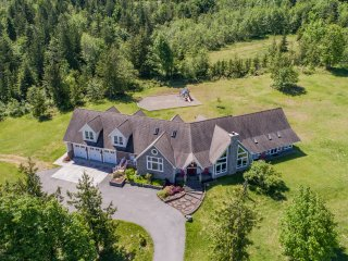 Luxurious Port Angeles Estate on 10 Private Acres!