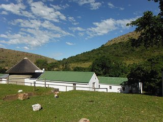 Basic self-catering units on farm 10km from Grahamstown R180pp