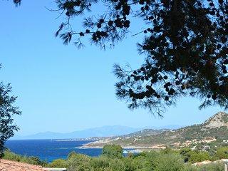 Petite maison au calme, belle vue mer....