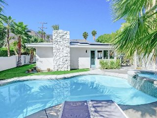 Posh 3BR Desert Oasis in Chino Canyon w/ Hot Tub, Heated Pool & Fire Pit