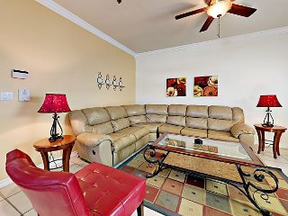 2BR South Padre Condo w/ Pool in Prime Location, Walk to Beach
