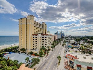 Beachfront 3BR Condo in Myrtle Beach w/ Pool, Parking, & Ocean Views