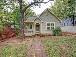 Discover Austin's Travis Heights neighborhood from this newly remodeled 3BR