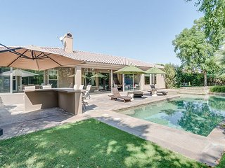 Posh 4BR w/ Pool, Hot Tub, & Outdoor Kitchen - Near Coachella, Golf, & Dining