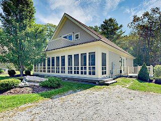 Dreamy 3BR Coastal Resort Cottage w/ Pristine Waterfront & Dock