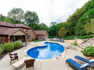 Private Retreat on 2.5 Acres in Franklin with Pool and Chef's Kitchen