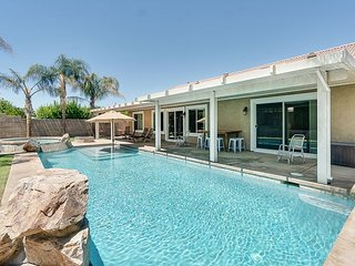 Spacious 3BR w/ Pool & Hot Tub - Near Indian Wells & Coachella