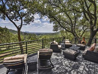 3BR Mid-Century Modern w/ City Views – 5 Miles from Downtown Austin