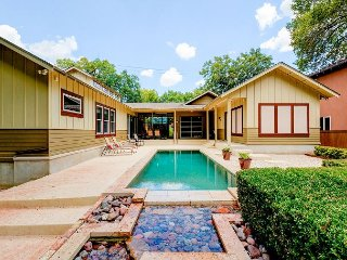 Modern, Open-Concept 4BR w/ Outdoor Lounge & Pool - 5-Min Walk to SoCo