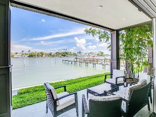 Private Patio and Dock! 3BR, 2.5BA  New Upscale Condo On The Water!