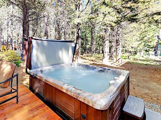 Serene Wooded Newly Updated Home with Hot Tub