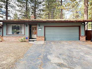 3BR, 2BA Central South Lake Tahoe House—Short Drive to Skiing, Beach