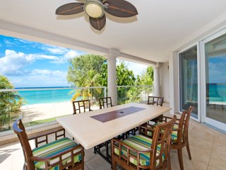 Oceanfront Luxury 4-bed Condo In Boutique Development On SMB