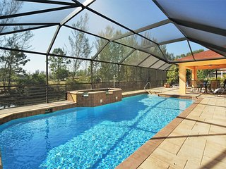Villa 'Blue Diamond' - House with over-sized pool & spa on a canal!