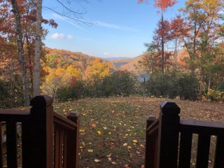 Fall is Beautiful in Gatlinburg Private 3 bdr Cabin with Fire Pit & Hot Tub!!
