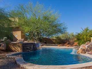 Troon Desert Escape w/ Pool/Spa Heater, Casita, and Mtn Views