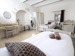 Chambre Voutine (2 lits en 90 + 1 lit bébé)