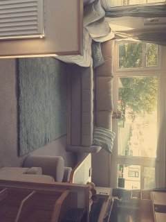 LOUNGE AREA WITH A VIEW OF LAUREL CLOSE AS SITUATED AT THE BOTTOM