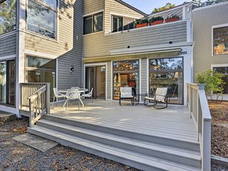 NEW! 2BR New Seabury Condo Steps to Private Beach!