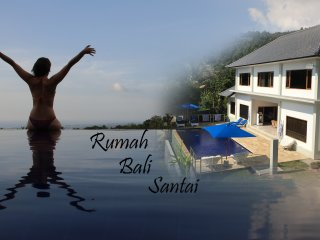 RUMAH BALI SANTAI. Our Luxurious Villa in a Tranquil Mountain Setting