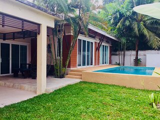 Modern 2 Bedroom Pool Villa in Hua Hin