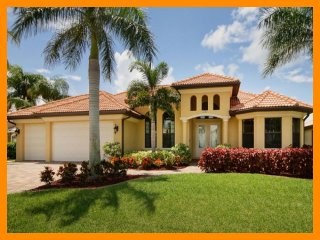 Cape Coral 294 - waterfront villa with private pool and boat dock