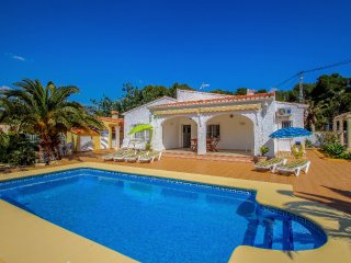 Albertina - private pool villa, free Wifi, in Calpe
