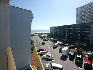 Myrtle Beach Resort A420 | Cozy Condo with Nice Ocean View