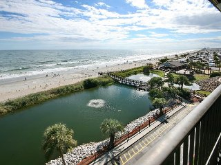 Myrtle Beach Resort B502 | Beautifully Decorated w/ Awesome Ocean Front View