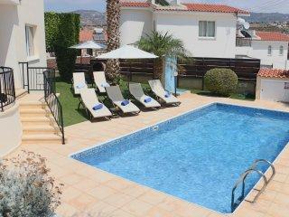 Villa Soraya Luxury villa with private pool walking distance to amenities & sea