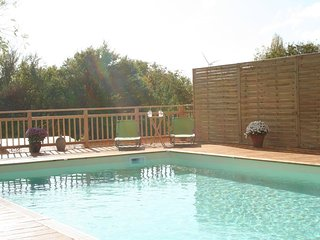 Walnut Lodge, 1 bedroom Gite for holiday rental in rural central France
