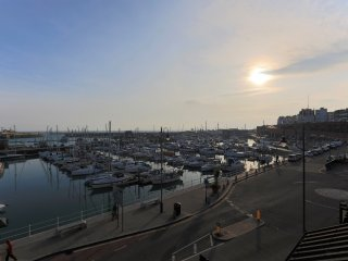 Harbour View, two bedroom apartment over looking the Royal Harbour