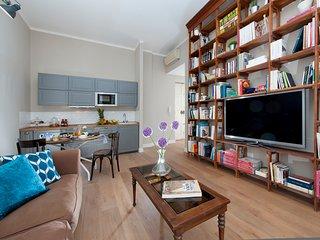 White Apartment Rome