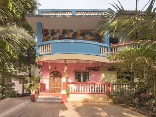 Comfortable room for four, 1.2 km from Nagaon Beach