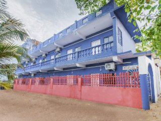 Commodious room for backpackers, 600 m from Anjuna Beach